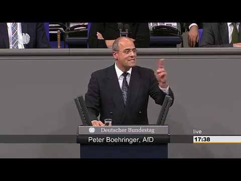 AKTUELL : REDE PETER BOEHRINGER ( AFD ) AM 13.DEZEMBER IM DEUTSCHEN BUNDESTAG IN BERLIN.