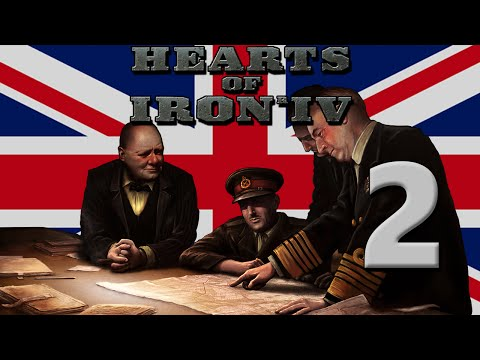 Hearts of Iron 4: Great Britain - Part 2: Dreams of Iraq