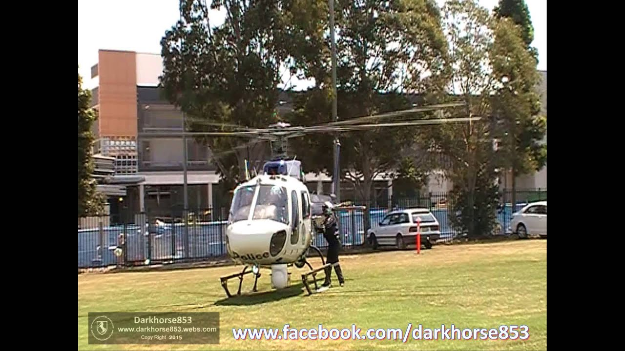 Polair One Helicopter Taking Off @ The NSW Police Fairfield Open Day  17102015