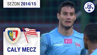 Piast Gliwice - Cracovia [1. połowa] sezon 201415 kolejka 09