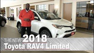 New 2018 Toyota RAV4 Limited - Minneapolis, St Paul, Brooklyn Center, MN | Walk Around
