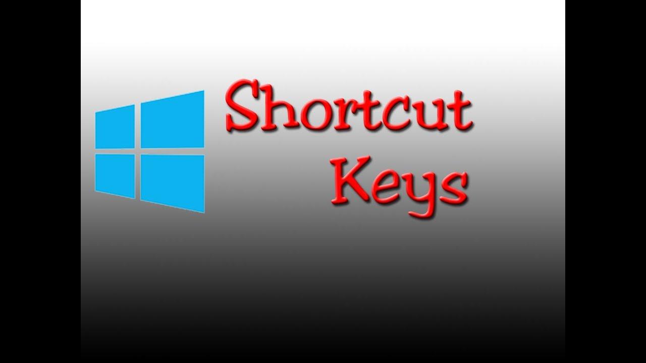 top windows shortcuts windows 10 shortcut keys youtube
