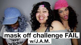 Mask Off Challenge FAIL (ft. J.A.M)