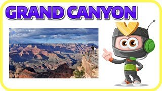 [Learn English Earth 22] GRAND CANYON FACTS FOR KIDS