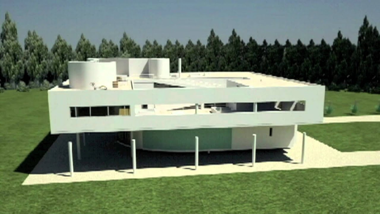 Recorrido virtual Villa Savoye - YouTube
