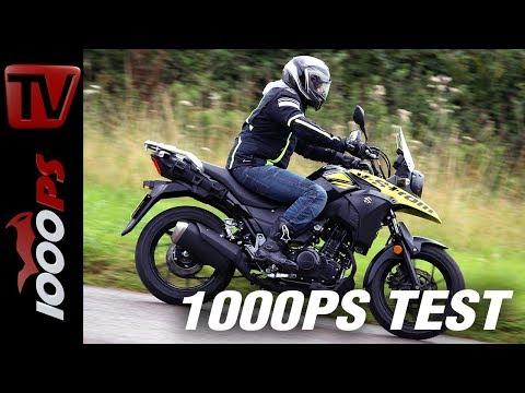 1000PS Test - Suzuki V-Strom 250