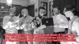 HOT TRIGGER vs NERDS - PROMO ROCK A FURA INTERNATIONAL FESTIVAL 2014 - SADALI (NU)