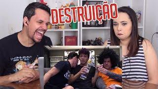 REACT COPA CIRROSE DA DESTRUIÇÃO!!!