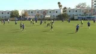 Προπόνηση Εθνικής Ανδρών Χανιά 17-11-14 | Greece training at Chania