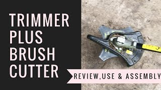 Troy Bilt Trimmer Plus Brush Cutter Review