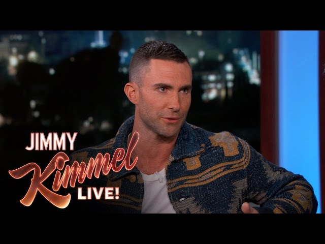 Adam Levine's Wife is from Namibia