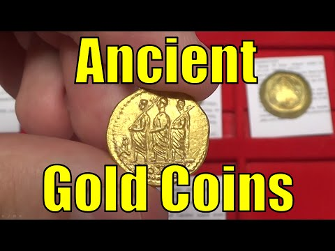 Guide to GOLD Ancient GREEK ROMAN BYZANTINE & World Coins Co