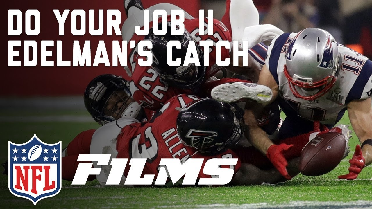 Julian Edelman Makes The Greatest Catch In Super Bowl History