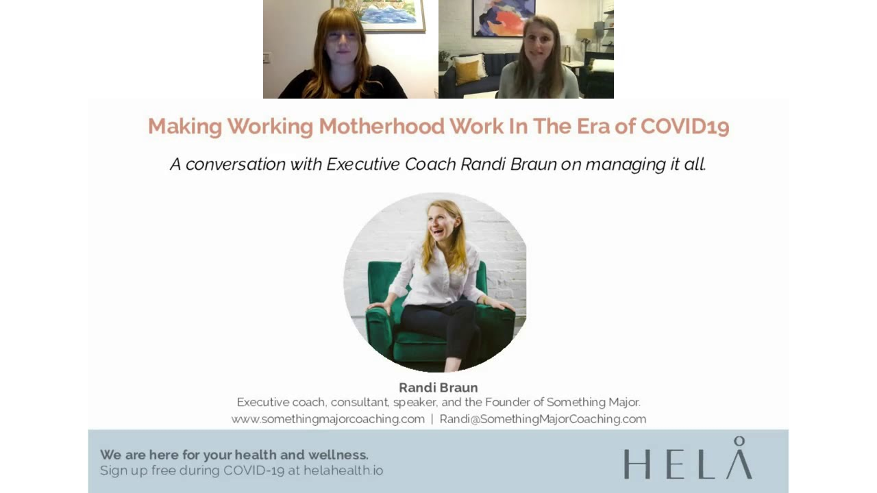 Motherhood In The Era of COVID19
