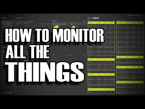 How to Monitor ANYTHING on your PC for free using NZXT CAM