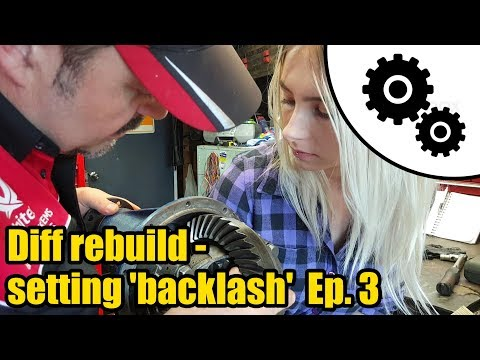 Diff rebuild - how to set backlash Ep. 3 #1025