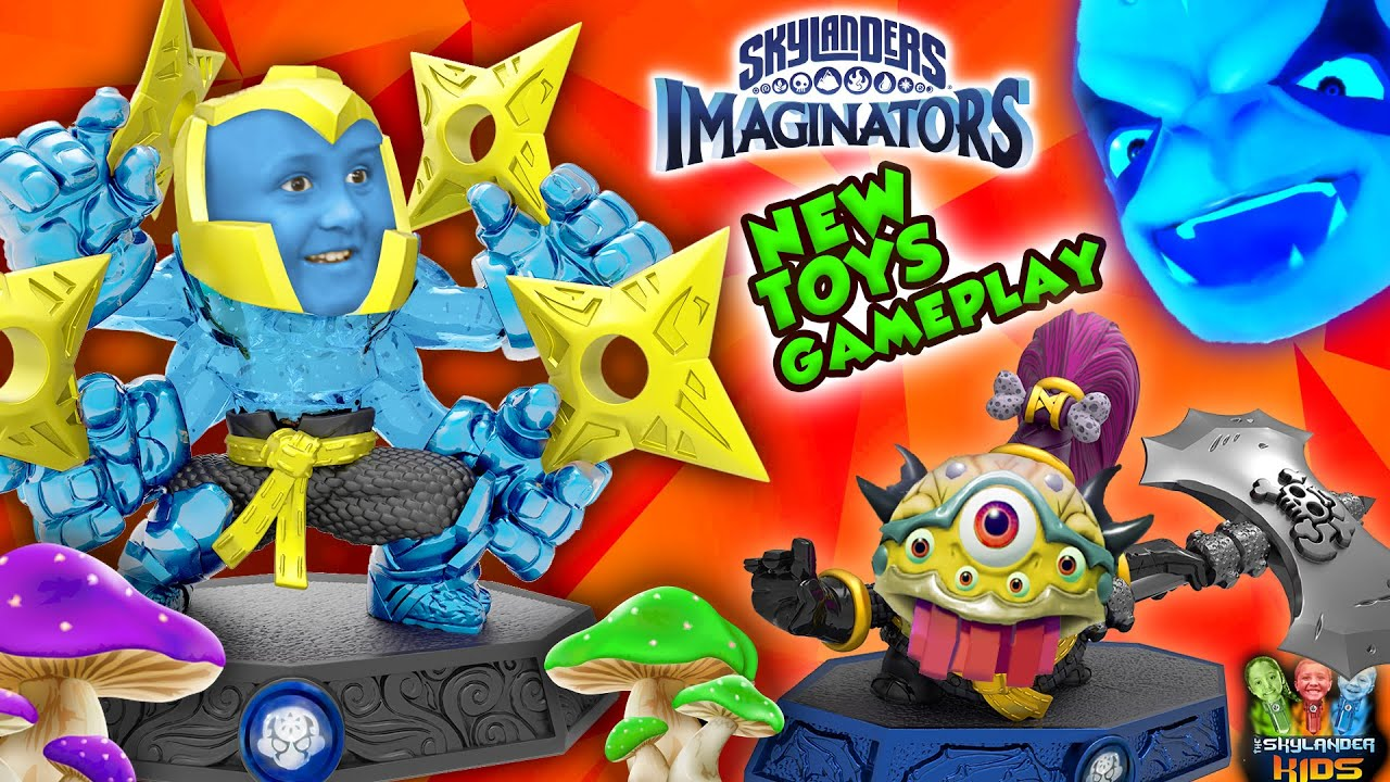SNAIL POOP! Kaos Doomlander Boss Battle + Chopscotch Gameplay (SKYLANDERS IMAGINATORS Mushroom Rivr)