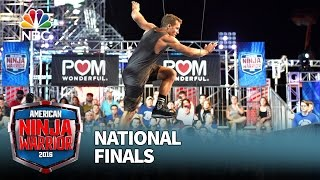 Grant McCartney at the National Finals: Stage 1 - American Ninja Warrior 2016