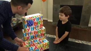 Kid Destroys Home with Real Lightsaber