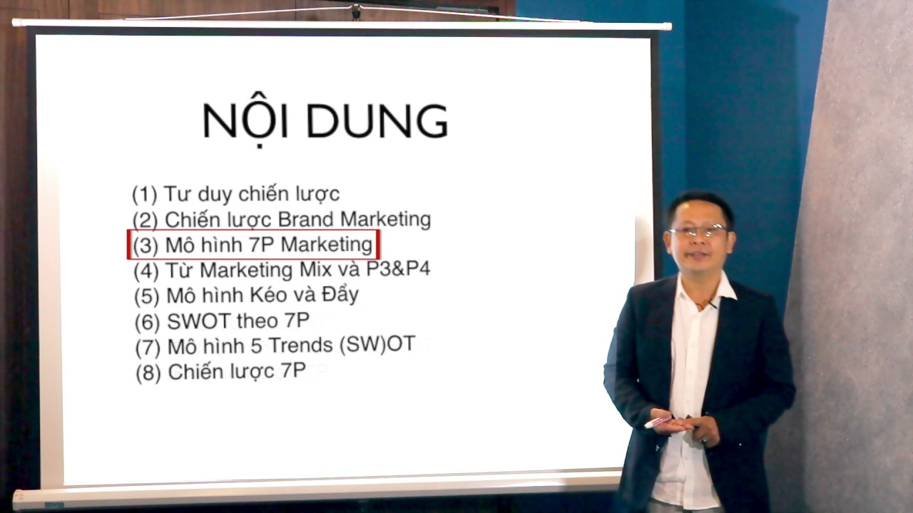The 7P Marketing Strategy: Mô hình chiến lược Marketing 7P (Chuyên gia thương hiệu Võ Văn Quang)