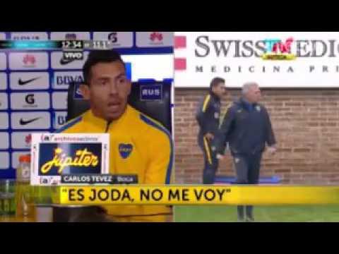 La broma de Tevez que paralizó los corazones de los hinchas de Boca