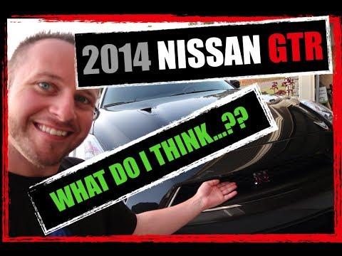 "Review: 2014 Nissan GT-R ""Black Edition"""