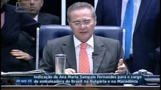 Plenário aprova indicação de Ana Maria Sampaio para embaixadora na Bulgária e Macedônia
