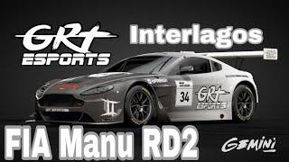 GT Sport Manufactures Exhibition Season 9/21/2019 Round 2 - GR3 Interlagos - GRT_Gemini POV