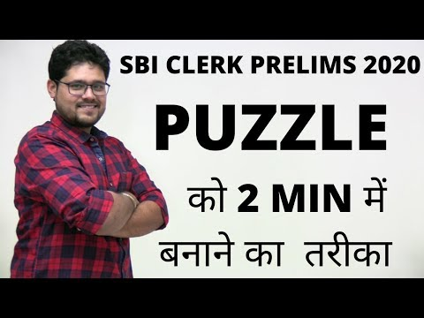 PUZZLES BEST APPROACH TO SOLVE IN 2 MINS