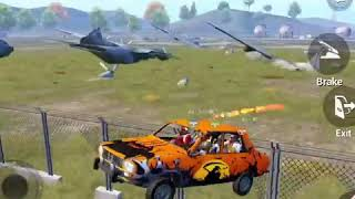 flying dacia through aeroplane in PUBG Mobile spinning dacia Asphalt 10 PUBG M Epic highlights clips