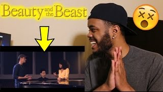 Beauty and the beast - Leroy Sanchez & Lorea Turner REACTION!!