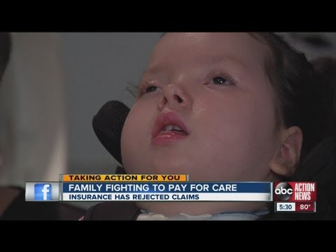 Insurance denying coverage to 9-year-old in vegetative state