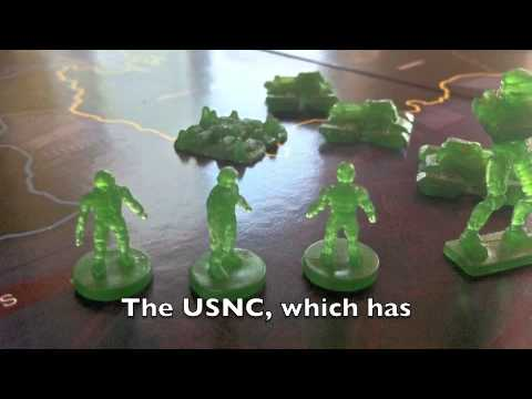 Risk Halo Wars the board game