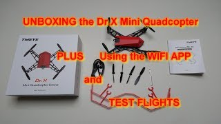 ThiEYE  Dr.X Mini Quadcopter Drone - BIG Review - All you Need to Know - F