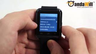 Uwatch U8 Smartwatch for Android Devices - Unboxing & Hands-on