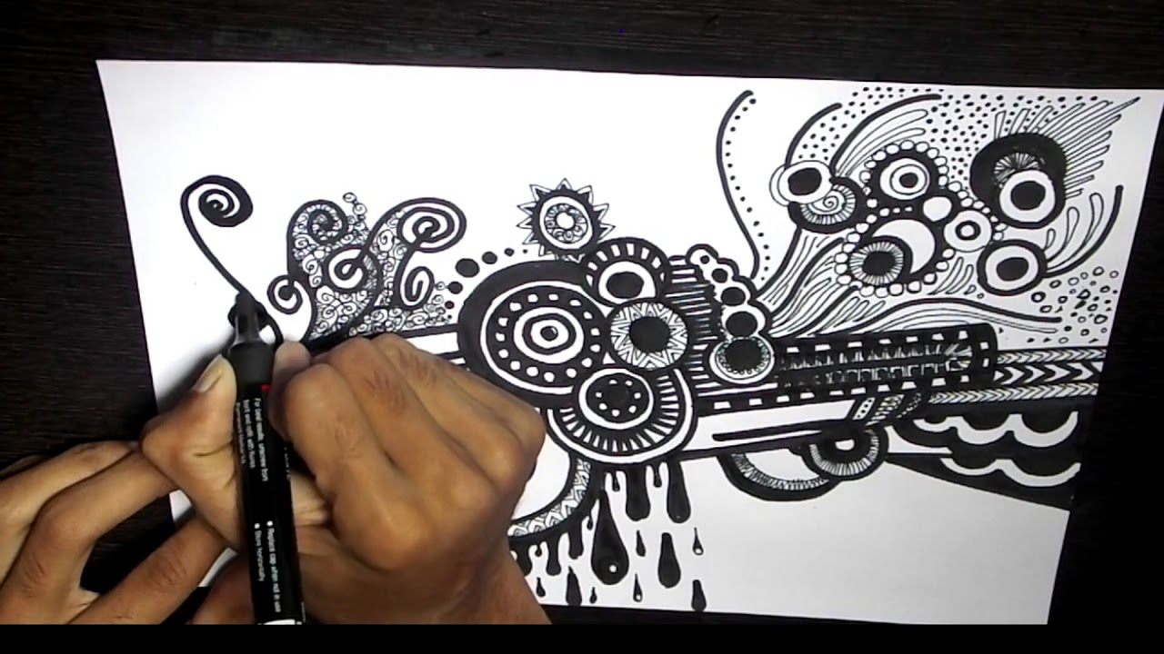 Learn To Draw Amazing Doodle Art Doodle Drawing Ideas Doodling For