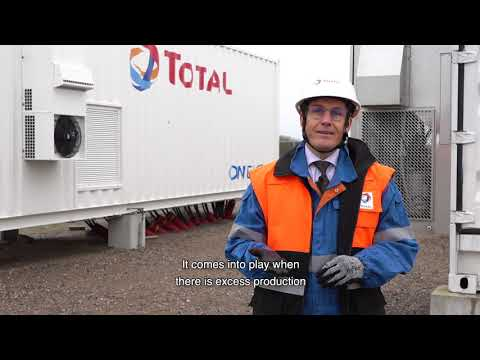 CNBC - Saft & Total involved in the largest battery-based energy storage project in France