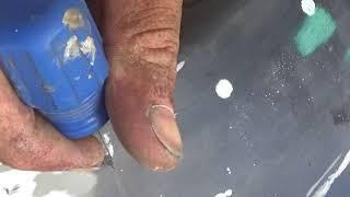 видео Подготовка деталей к точечной сварке