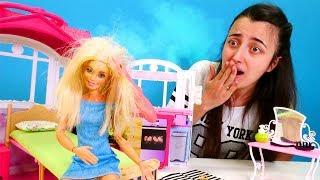 Barbie ve Sevcan. Barbie değişim istiyor
