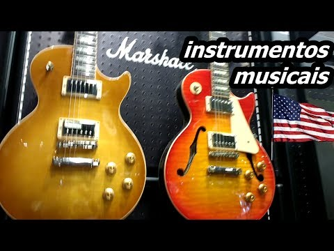 Music instruments store in USA GUITAR CENTER