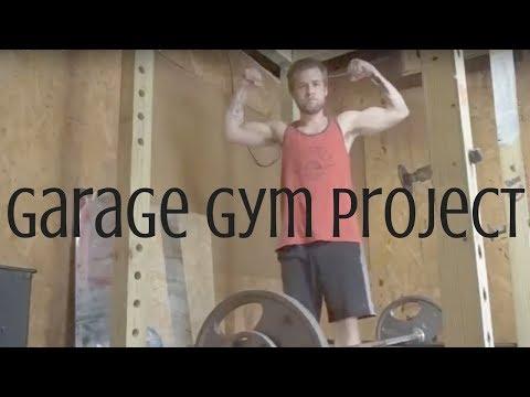 My garage gym project