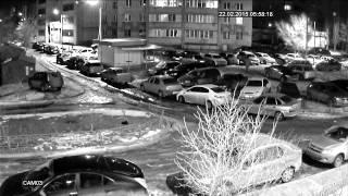 Ночное видео с AHD-камеры SVplus на базе модуля 1/4