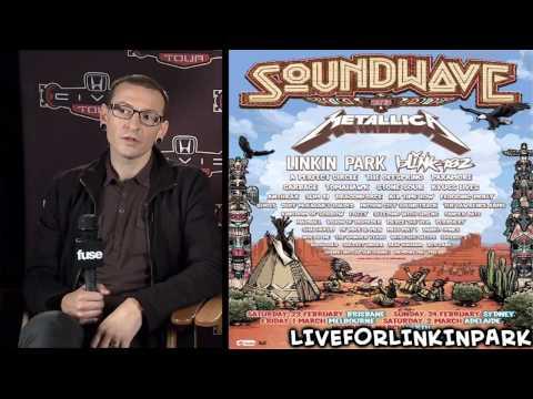 Linkin Park's Chester Bennington Talks About Soundwave 2013 [HD]