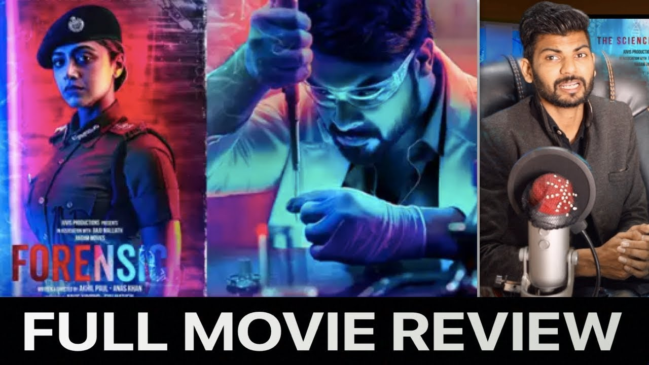 Forensic Malayalam Movie Review Forensic Review Forensic Full Movie Malayalam Review Youtube