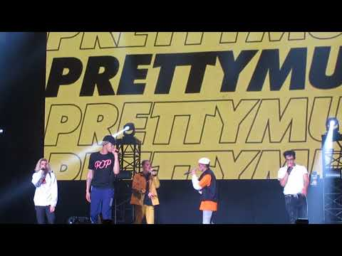 PRETTYMUCH Perform 'Open Arms'  popspring 2018 japan