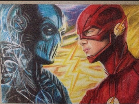 How To Draw Zoom Vs Flash The Flash Youtube