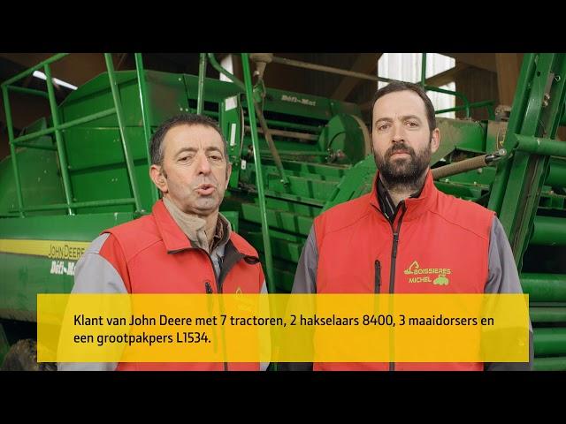 John Deere | Klantervaring L1534 Balenpers