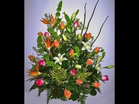 Como Hacer Arreglos Florales Naturales Youtube