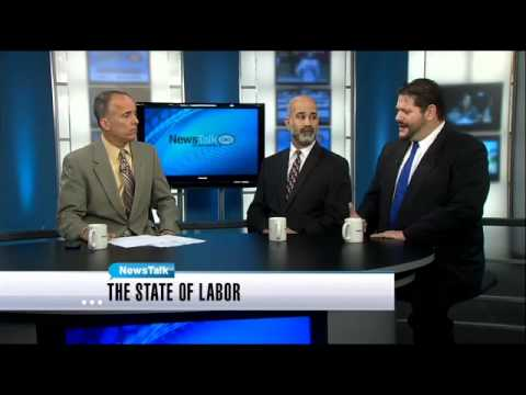 NewsTalk: Labor union rep, anti-union rep duke it out Part 1