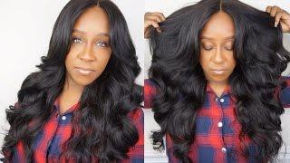 ALIEXPRESS HAIR: SUNLIGHT HAIR BRAZILIAN LOOSE WAVE + CLOSURE |  INITIAL REVIEW!!